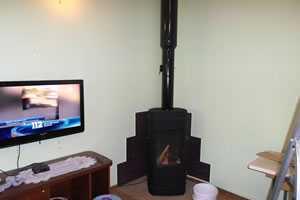Монтаж печей и дымоходов, установка дымохода на печь-камин