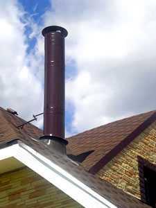 Расценки на установку дымоходов