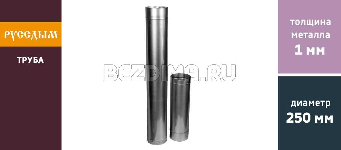 Труба одноконтурная - 1 мм