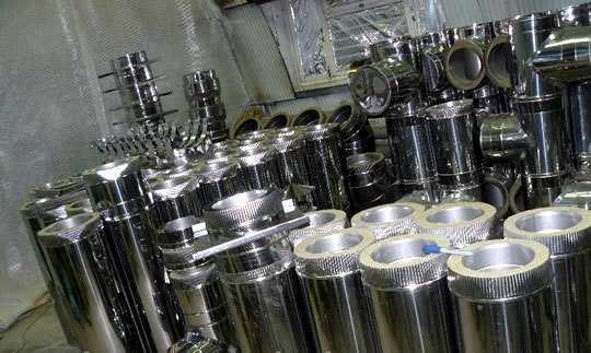 Производство стальных дымоходов